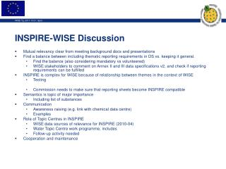 INSPIRE-WISE Discussion