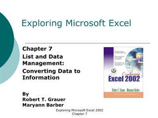 Exploring Microsoft Excel
