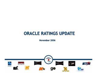 ORACLE RATINGS UPDATE