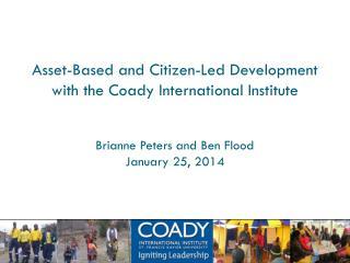 The Coady International Institute St Francis Xavier University
