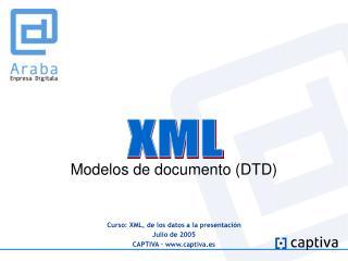 Modelos de documento (DTD)