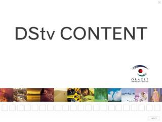 DSTV CHANNEL PROFILES Updated June 2007 (Kevin