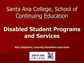 Learning Skills Program Overview