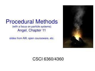 CSCI 6360/4360