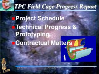 TPC Field Cage Progress Report