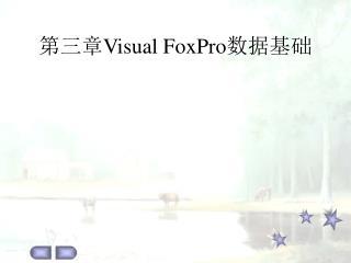 第三章 Visual FoxPro 数据基础