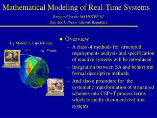 Mathematical Modeling of Real-Time Systems