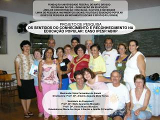 OBJETO DE PESQUISA
