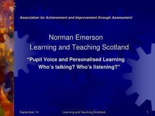 Association for Achievement and Improvement through Assessment