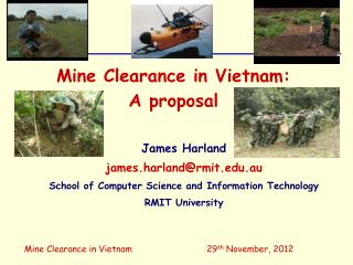 Mine Clearance in Vietnam:  A proposal