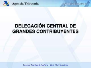 Curso de  Técnicas de Auditoría -  Quito 13-24 de octubre