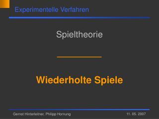 Gernot Hinterleitner, Philipp Hornung