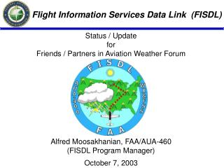 Flight Information Services Data Link  (FISDL)