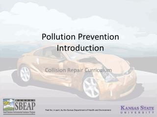 Pollution Prevention Introduction