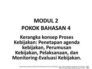 MODUL 2 POKOK BAHASAN 4