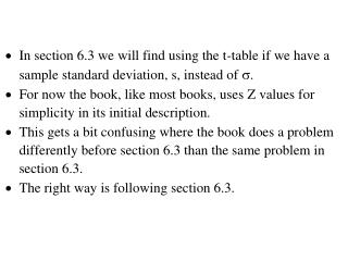 6.2 Large Sample Significance Tests for a Mean