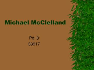 Michael McClelland