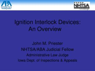 Ignition Interlock Devices: An Overview
