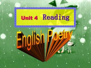 Unit 4    Reading