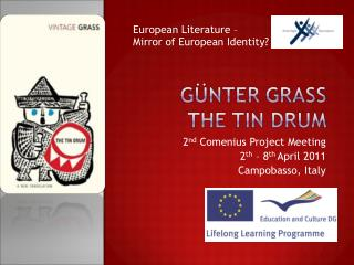 2 nd  Comenius Project Meeting 2 th  – 8 th  April 2011 Campobasso, Italy