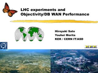 LHC experiments and Objectivity/DB WAN Performance