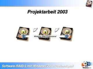 Projektarbeit 2003