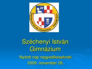 Széchenyi István Gimnázium