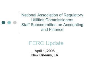 FERC Update