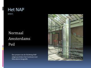 Het NAP versie 1