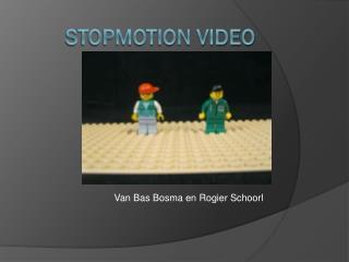 stopmotion video