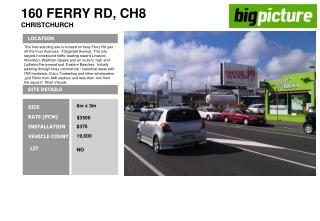 160 FERRY RD, CH8 CHRISTCHURCH