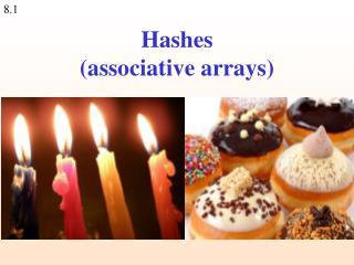 Hashes (associative arrays)