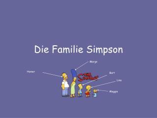 Die Familie Simpson
