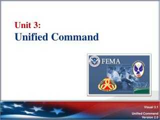 Unit 3:   Unified Command
