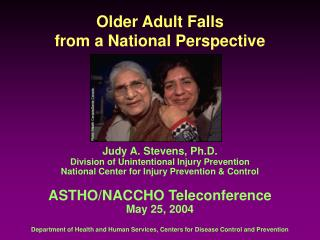 Older Adult Falls  from a National Perspective