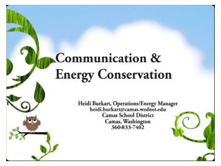 Resource Conservation Management Program