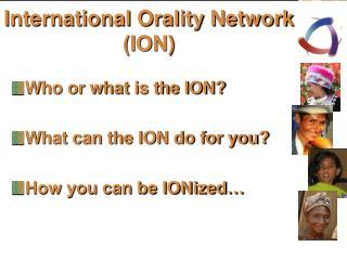 International Orality Network (ION)