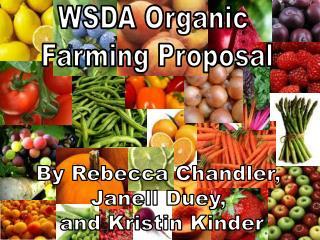 WSDA Organic  Farming Proposal
