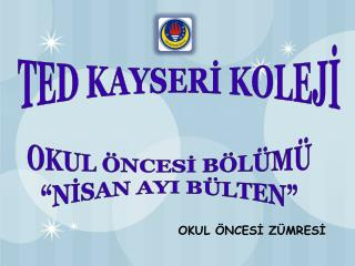 TED KAYSERİ KOLEJİ