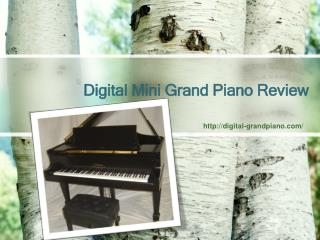 Digital Grand Piano for Sale Guide