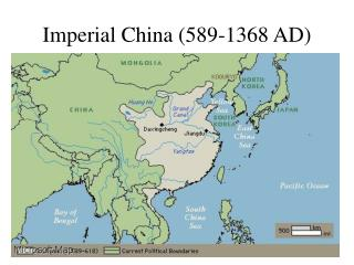 Imperial China (589-1368 AD)