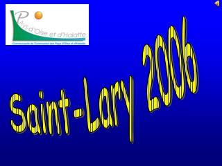 Saint-Lary 2006