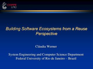 Building Software Ecosystems from a Reuse Perspective