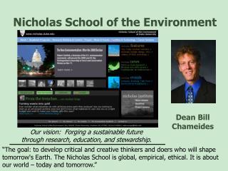 Nicholas School of the Environment