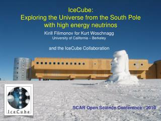 IceCube: Exploring the Universe from the South Pole with high energy neutrinos