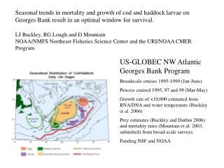 US-GLOBEC NW Atlantic Georges Bank Program Broadscale cruises 1995-1999 (Jan-June)