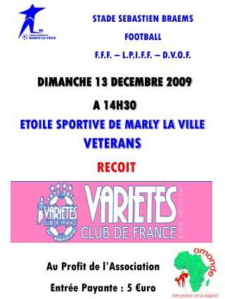 ETOILE SPORTIVE DE MARLY LA VILLE VETERANS