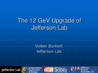 The 12 GeV Upgrade of Jefferson Lab