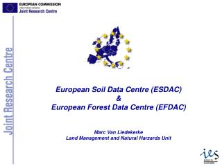 ESDAC and other Go4 data centres