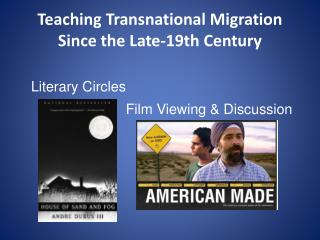 Teaching Transnational Migration Since the Late-19th Century